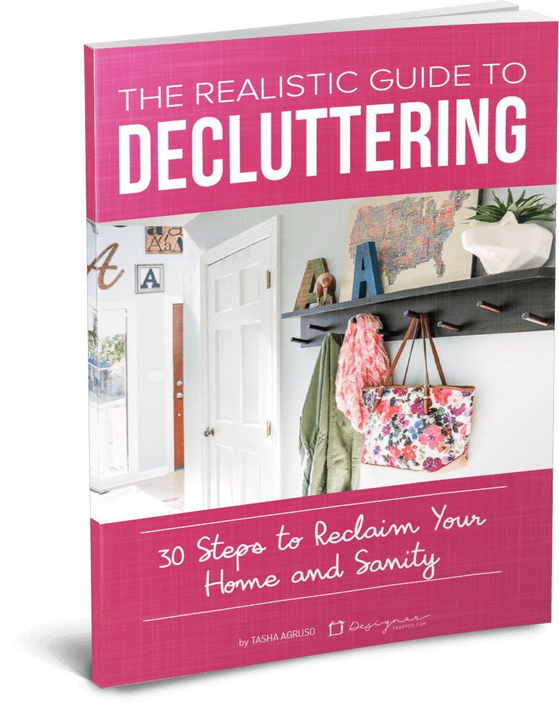 Learn how to handle the emotions of decluttering your home. These rules will make it EASY for you to declutter your home.