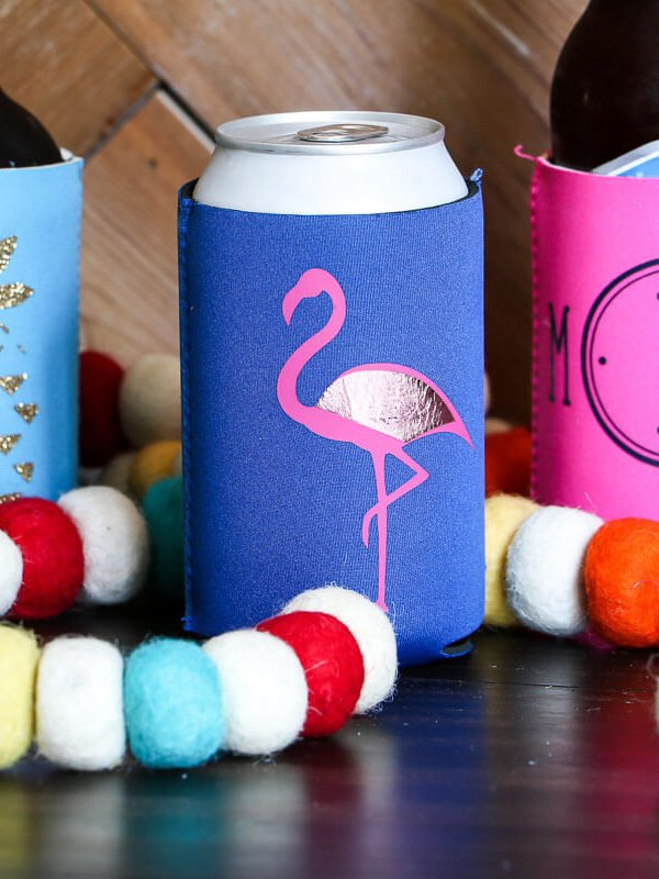 DIY Personalized Koozies