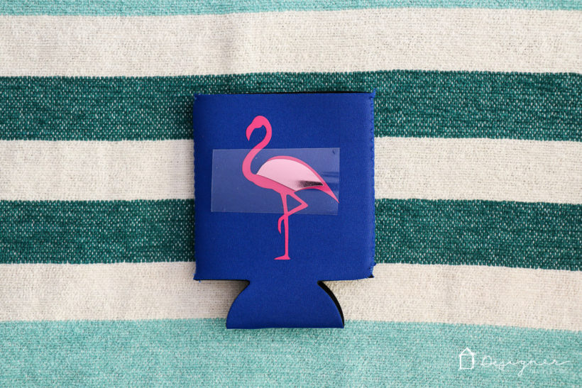 DIY personalized koozies are fun to create and make awesome gifts! Follow this easy, step-by-step tutorial to make your own. #koozies #diykoozies