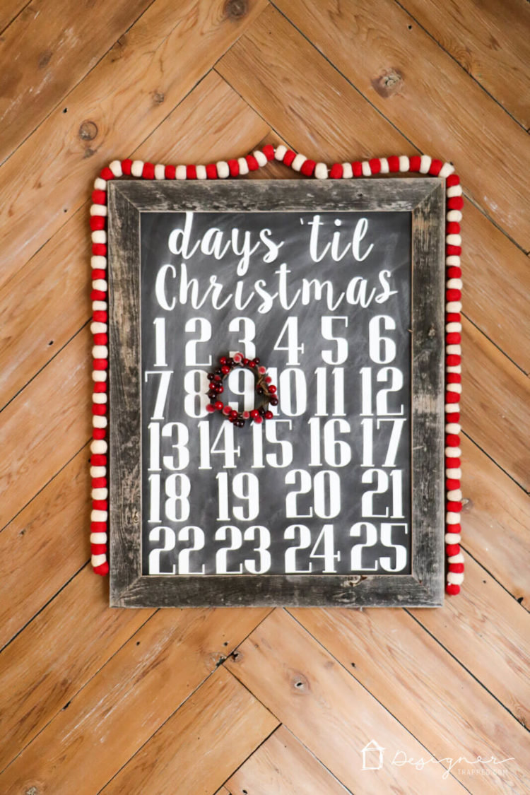 Chalkboard signs are so charming, but they can be tedious to make. With my chalkboard art method, they are EASY to make and are reusable!