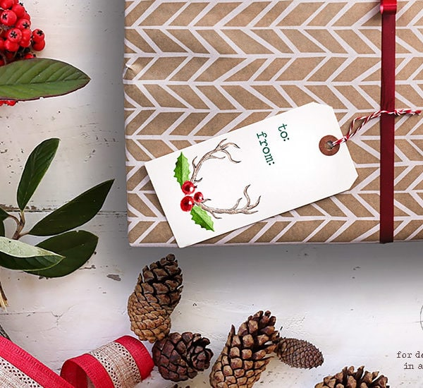 Free Printable Gift Tags for Christmas