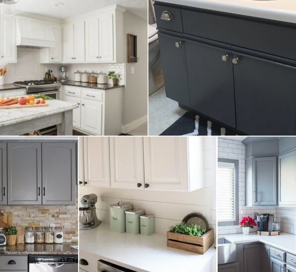 The Best Paint for Kitchen Cabinets: 8 Successful Cabinet Transformations