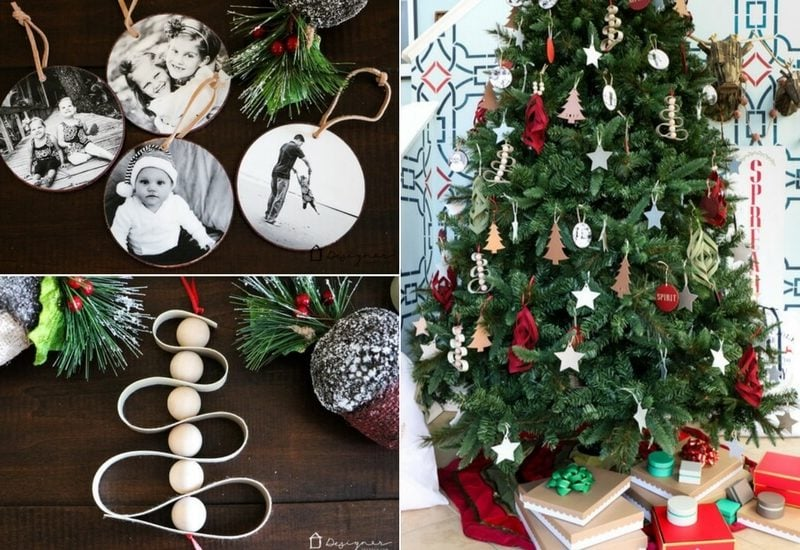 Think you can't fill an entire free with DIY Christmas ornaments? Think again! I made every single ornament on our 9 foot Christmas tree myself with my Cricut Maker!