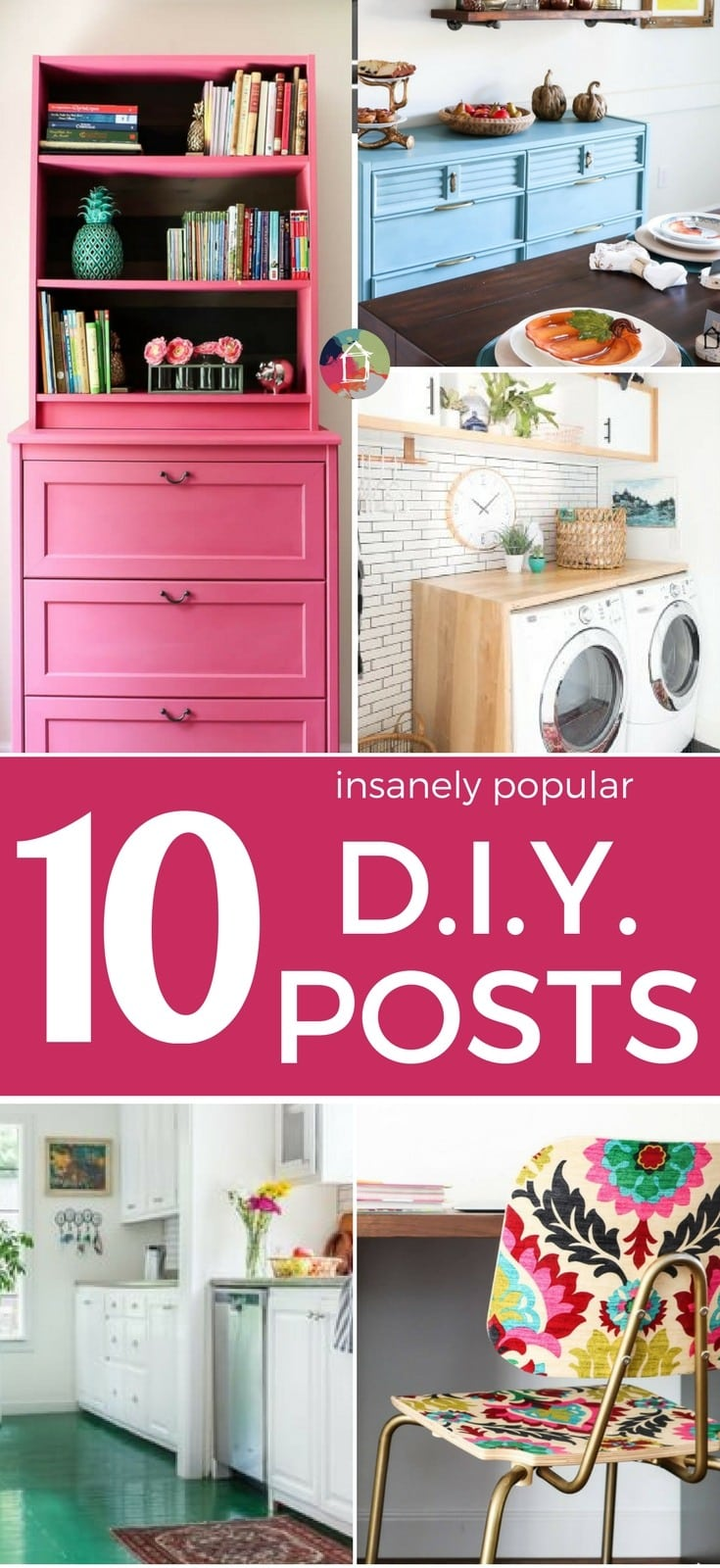 These top 10 most popular posts of 2017 include many DIY projects and more! There is something here for everyone to enjoy.