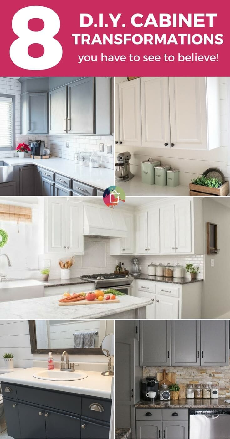 These 8 successful cabinet transformations are proof that you can paint your kitchen cabinets and love the results! Learn about the best paint for kitchen ...