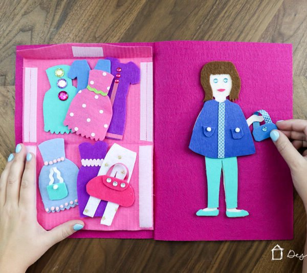 DIY Felt Doll Kit