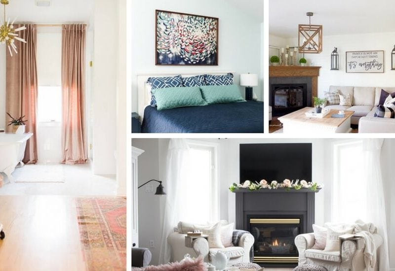 So many of us have small spaces in our homes that we want to feel larger. These seven tips for how to make a small room look bigger are how the pros do it!