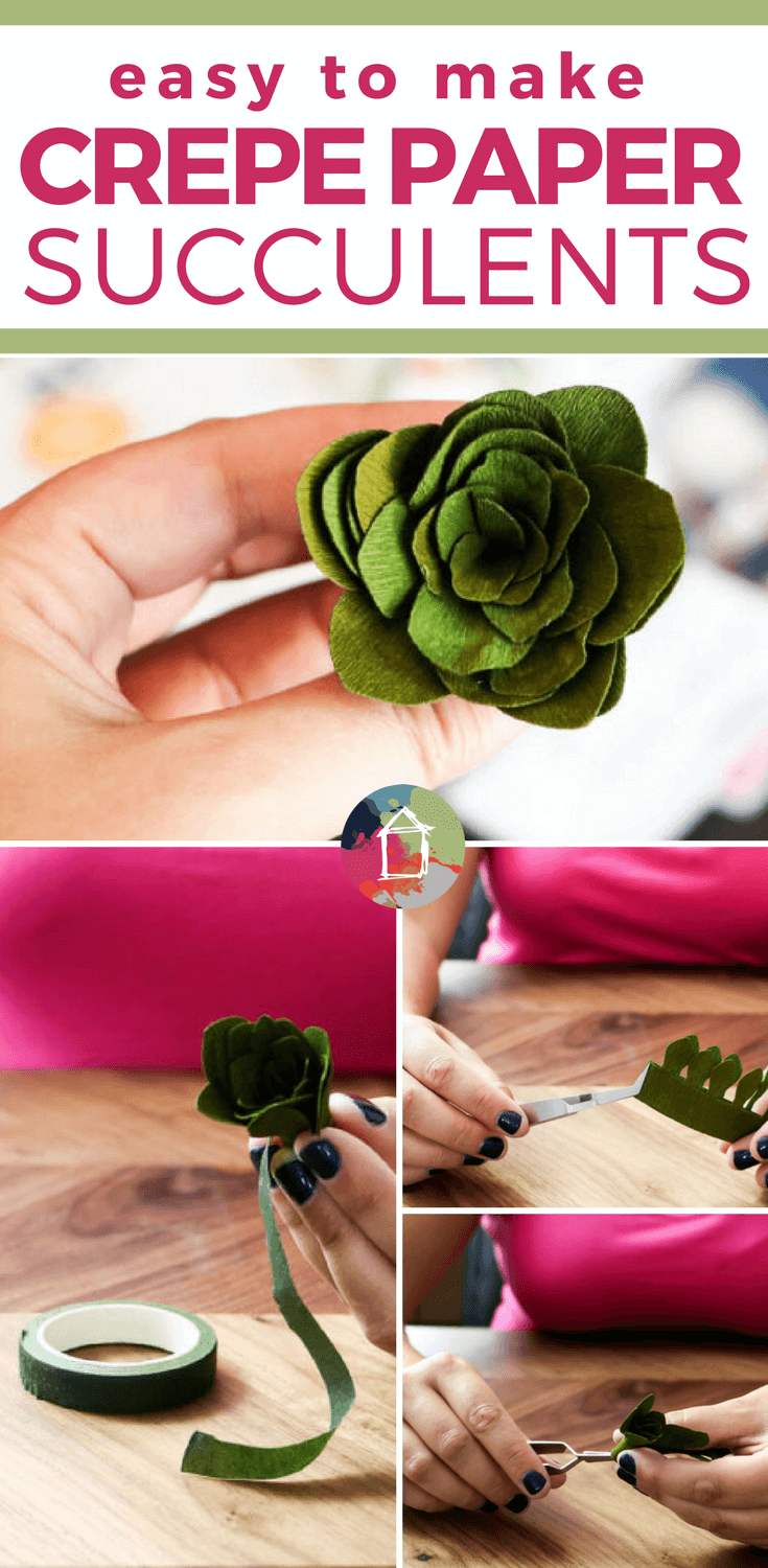 In this Cricut cutting review, I take a look at whether the Cricut Maker can REALLY cut crepe paper and other delicate materials, plus I share a tutorial for making adorable crepe paper succulents!