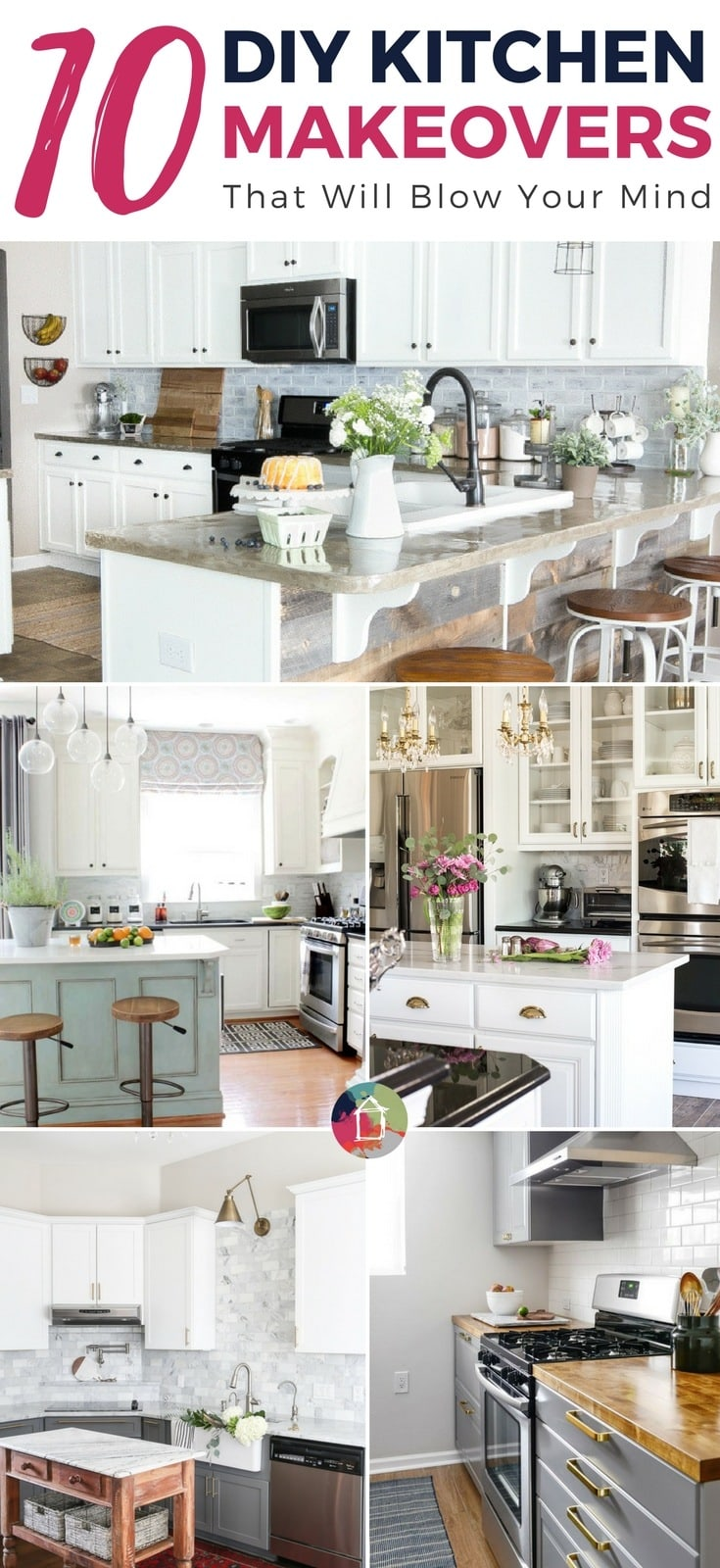 10+ DIY Kitchen Makeovers That Will Blow Your Mind ...