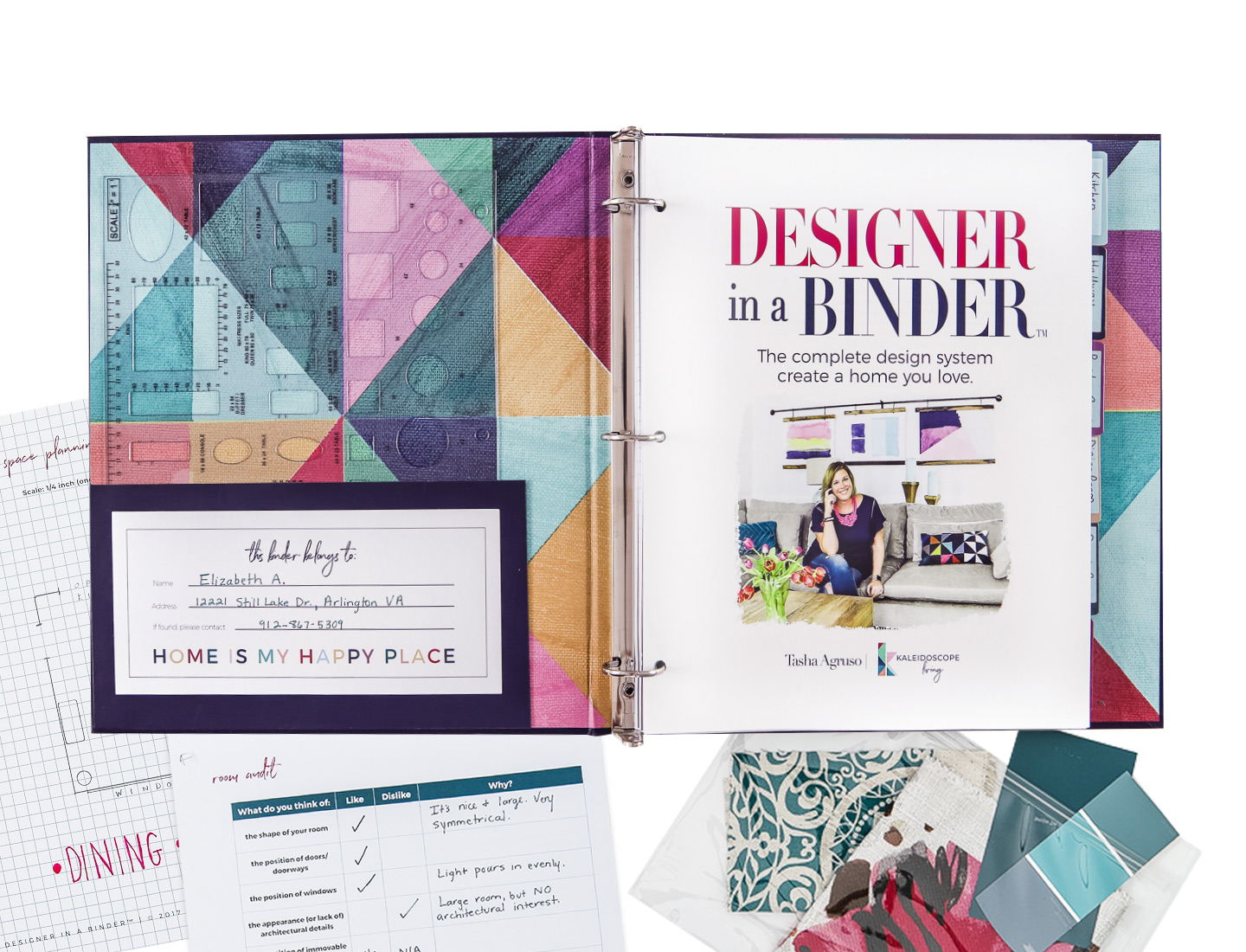 interior design books Designer in a Binder