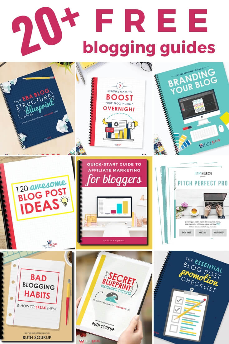 20 free blogging guides