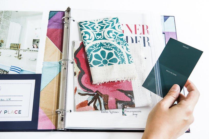 affordable interior design Designer in a Binder