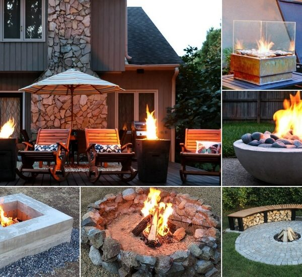 DIY Fire Pit Ideas + Buying Options for Non-DIYers
