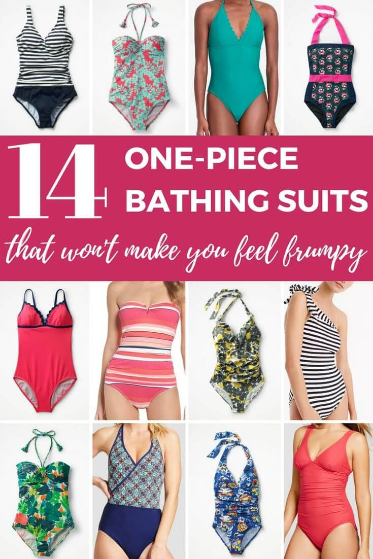 Bathing suits for moms need to stay put while swimming and wrangling kids, but they shouldn't make you feel frumpy! These one-piece bathing suit picks are as chic as they are comfortable and practical.