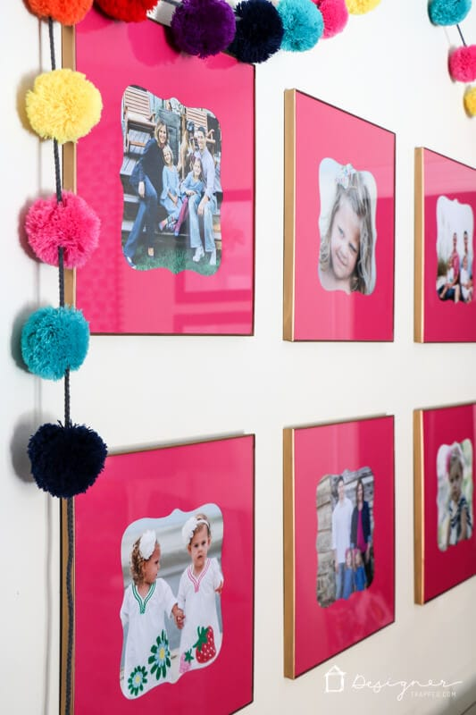 Picture mats can be expensive and custom shapes and sizes are impossible to find on store shelves. Now you can make your own DIY picture mats with this easy tutorial!