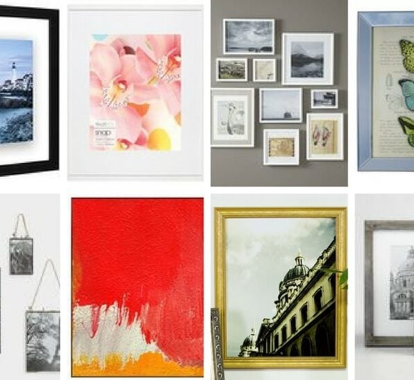 Affordable frames that are also stylish are not always easy to find. These amazing finds will look great and not break your decor budget!