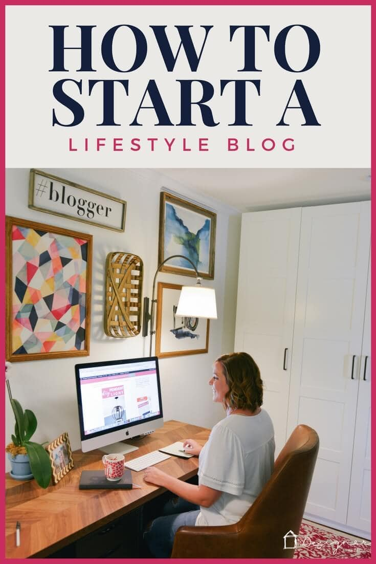 You can learn how to start a lifestyle blog in less than 30 minutes with these easy to follow instructions from an experienced DIY and home decor blogger!