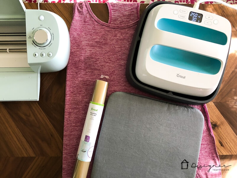 Now there is a heat transfer vinyl that has enough stretch to use on work out clothes, bathing suits, yoga pants, leggings and more! It's called SportFlex Iron On™ and it's awesome. In this post, you will learn how to use Cricut Iron On Vinyl for stretchy fabrics.