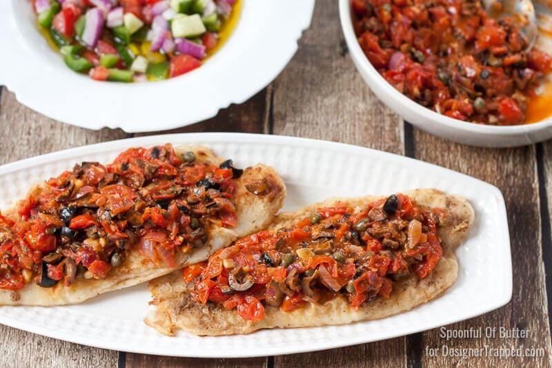 harissa sauce fish