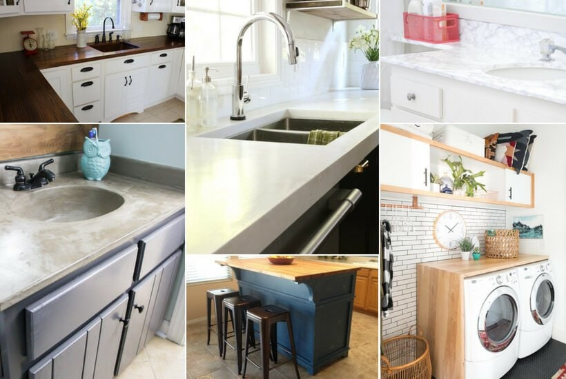12 DIY Countertops That Will Blow Your Mind ...