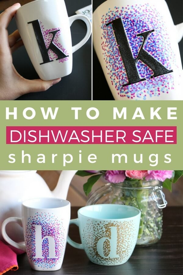 dishwasher safe sharpie mugs