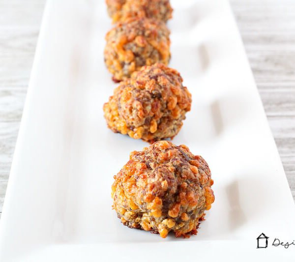 Easy Sausage Balls (with a bit of heat!)