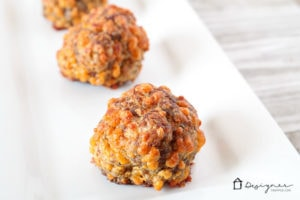 spicy sausage ball