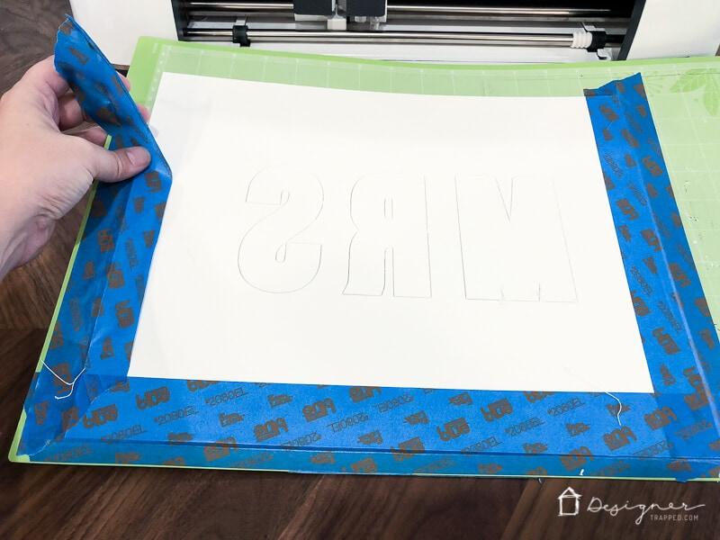 Cricut Maker cut mat board