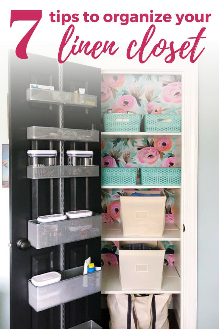 Linen Closet Organization 7 Simple Tips For A Pretty And