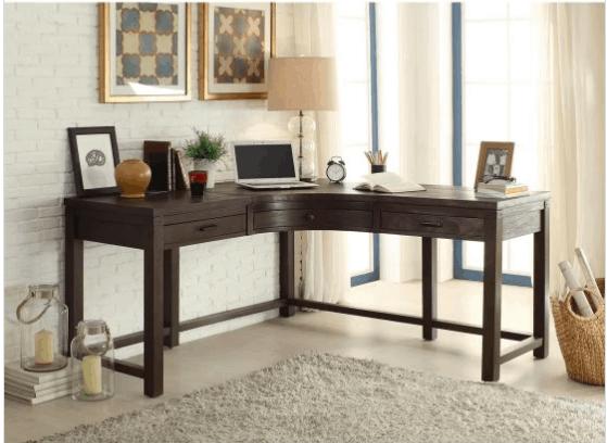 Hayneedle curved corner desk
