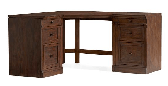 Pottery Barn Livingstone corner desk
