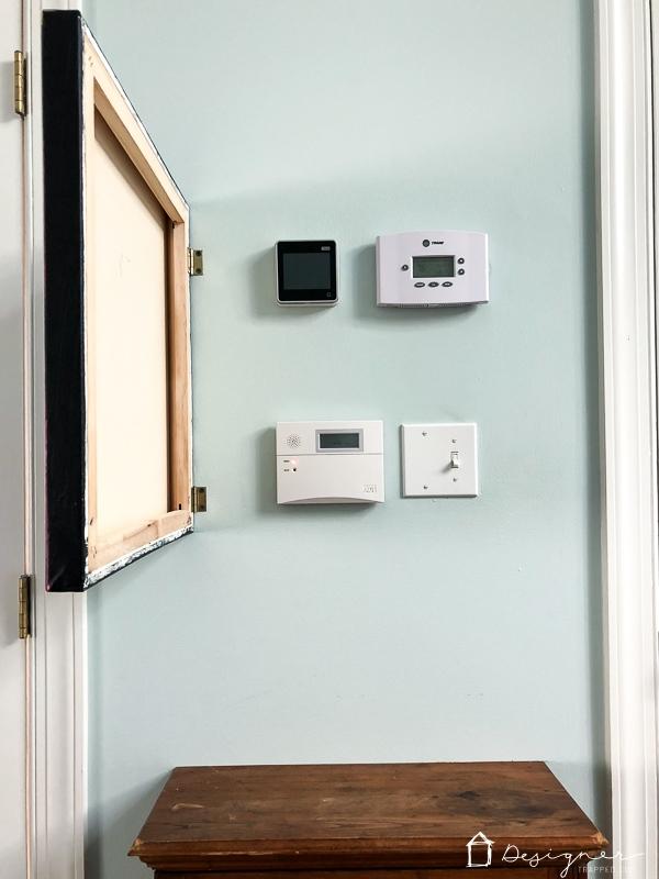 art hiding thermostat