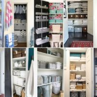 Genius Linen Closet Ideas for Organization and Beautification