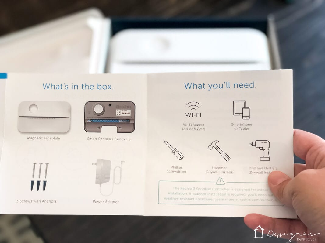 Rachio 3 instruction manual