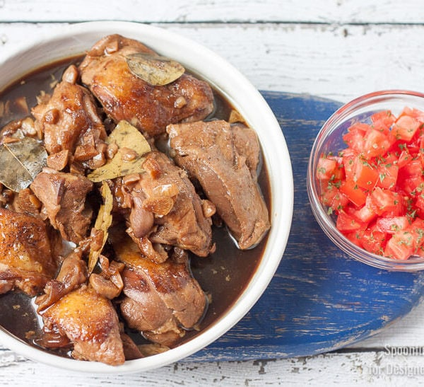 The Absolute Best Chicken Adobo