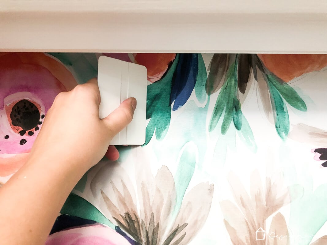 installing removable wallpaper