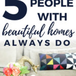 tips for beautiful homes
