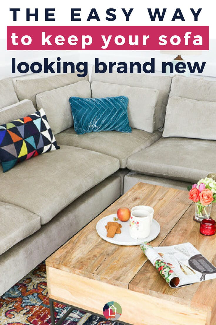 Diy Tip To Keep Your Sofa Looking Brand