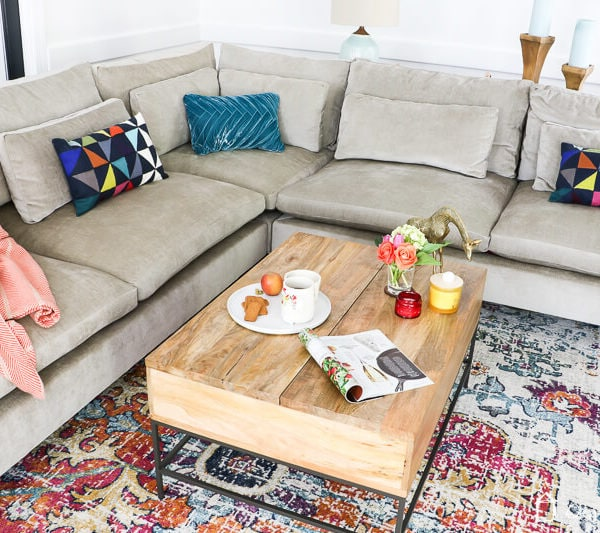 West Elm Harmony Sectional Sofa
