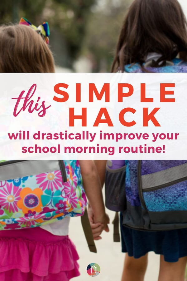 school morning routine hack