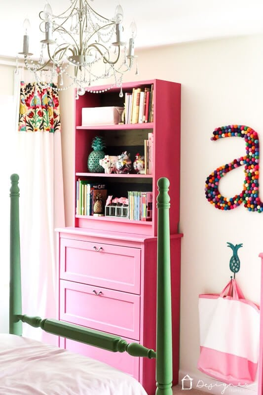 colorful girls bedroom decor