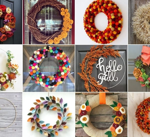 23 Colorful Fall Wreaths You Will Love