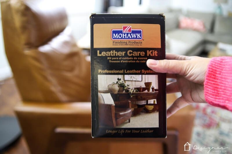 mohawk leather care kit