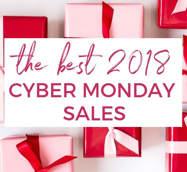 2018 Cyber Monday Sales for Home Decor and Clothes!