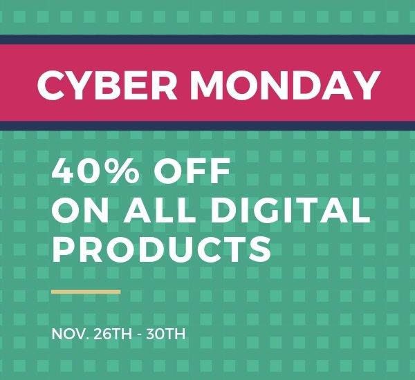 Cyber Monday Goodness!