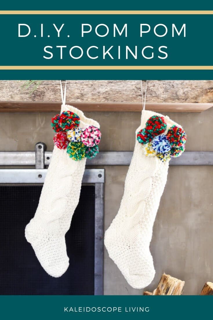 DIY Pom Pom Stocking