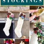 DIY pom pom stocking