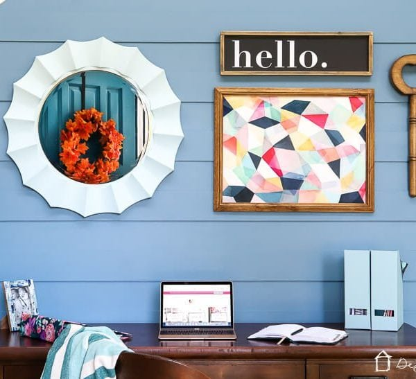 Modern DIY Plank Wall Tutorial
