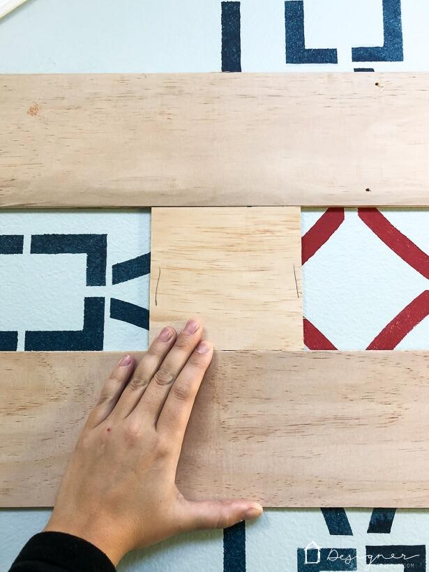 installing modern plank wall