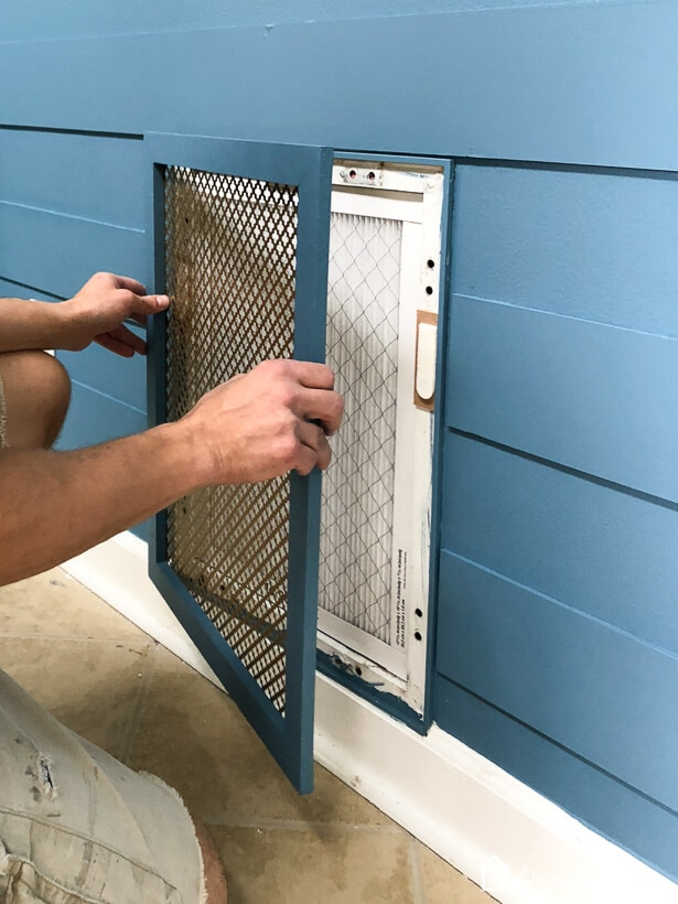 diy air vent cover installation